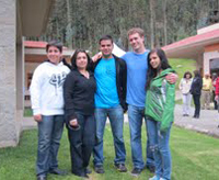 Alec Fogarty in Ecuador on a 2012 Summer Language Abroad grant
