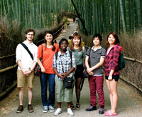 Il-Jee Kam in Japan on a 2012 Summer Language Abroad grant