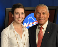 Charles Bolden, the current head of NASA, was among the many experts senior FTT major Patricia Harte interviewed as a journalism intern in Washington, D.C.