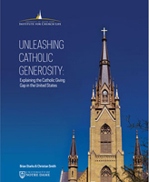 Unleashing Catholic Generosity: Explaining the Catholic Giving Gap in the United States