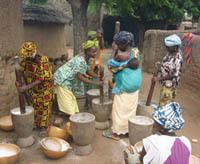 Mali villagers
