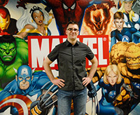 Bill Rosemann '93, an editor at Marvel Comics