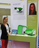 Notre Dame senior Breanna Stachowski recently placed third at the International Housewares Association (IHA) Student Design Competition